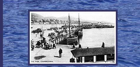 Old Photo of Campbeltown Pier